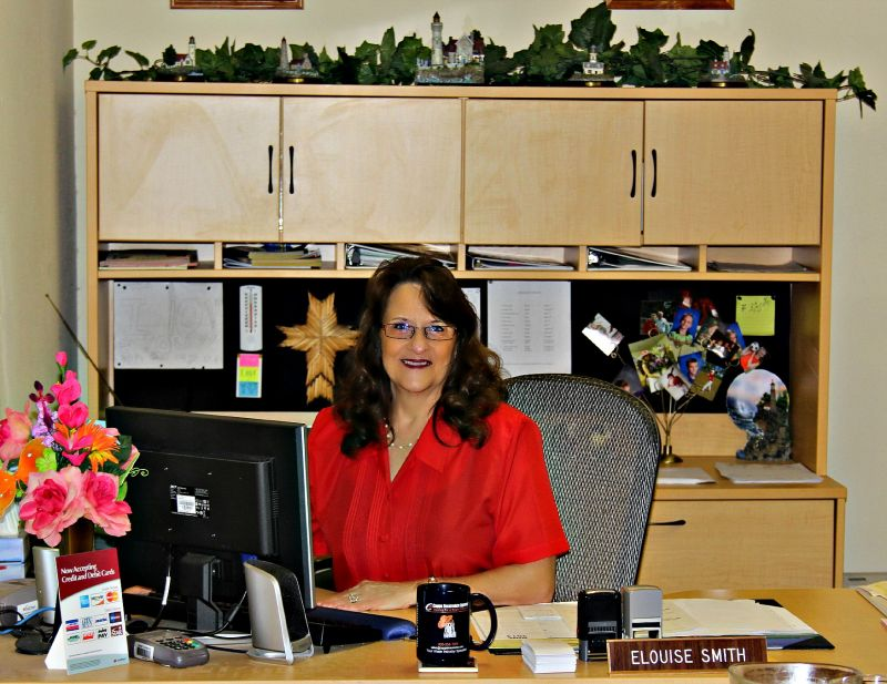 UJCWA Receptionist, Elouise Smith